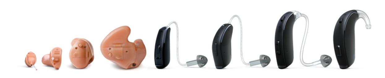 componentes de un audífono
