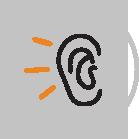prueba de audifonos